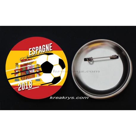 Badge Coupe du Monde de Foot 2018 : Espagne