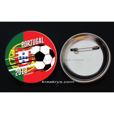 Badge Coupe du Monde de Foot 2018 : Portugal