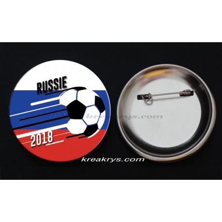 Badge Coupe du Monde de Foot 2018 : Russie