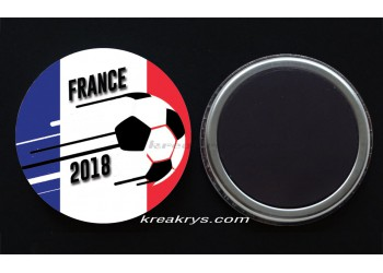 Badge Magnet Coupe du Monde de Foot 2018 : France
