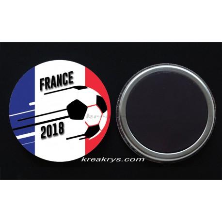 Badge Magnet Coupe du Monde de Foot 2018 : France
