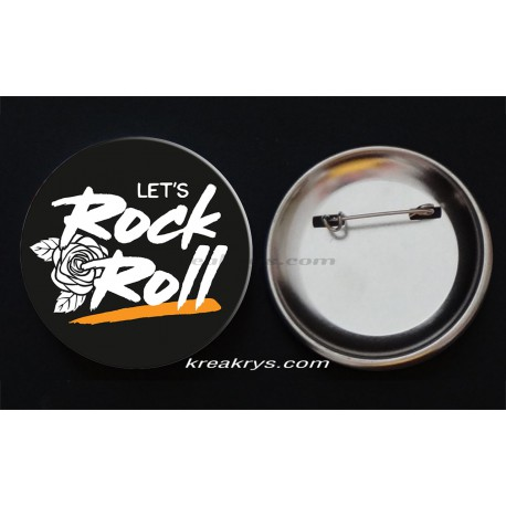 Badge Collection Rock : Let's Rock & Roll