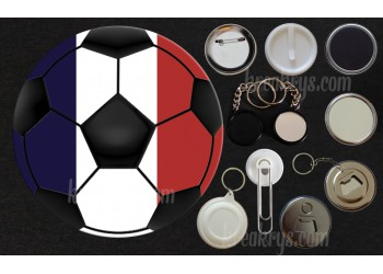 Badge Collection Foot : Ballons France