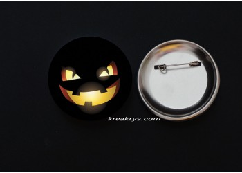 Badge Broche épingle Halloween Jack