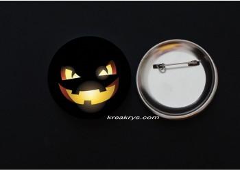 Badge Broche épingle Halloween Jack