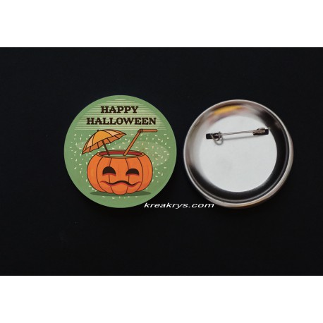 Badge Broche Epingle Halloween
