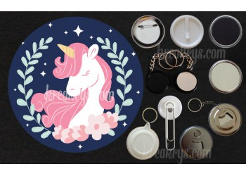 Badge Collection Licorne : Dream