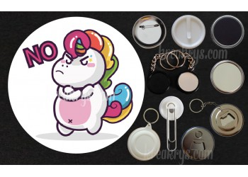Badge Collection Licorne : Stickers No