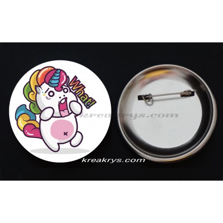 Badge Collection Licorne : Stickers