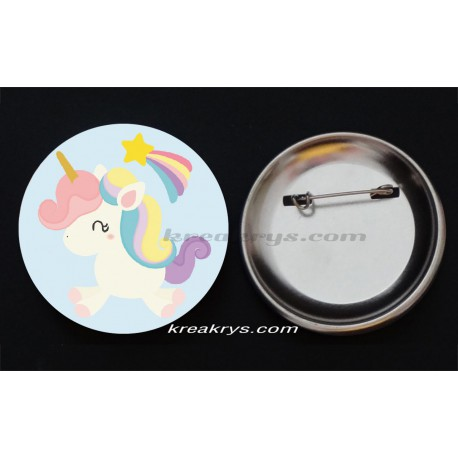 Badge Collection Licorne : Baby