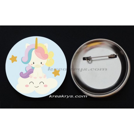 Badge Collection Licorne : Baby étoile filante