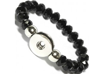 Bracelet pression perles