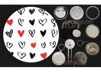 Badge Collection Saint Valentin : Puissance4