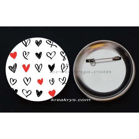 Badge Collection Saint Valentin : Puissance4