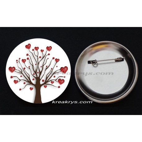 Badge Collection Saint Valentin : arbre