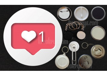 Badge Collection Saint Valentin : instalove
