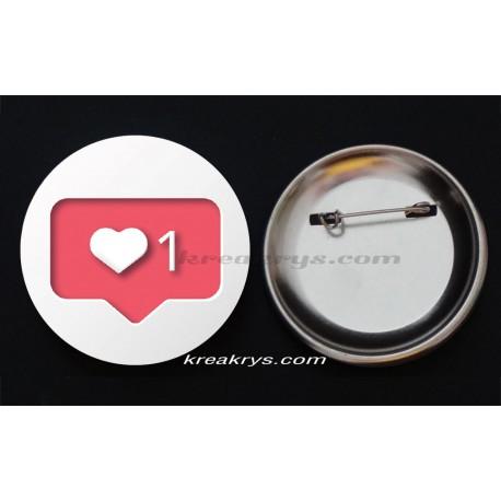 Badge Collection Saint Valentin : My Love