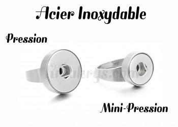 Bague pression acier inoxydable