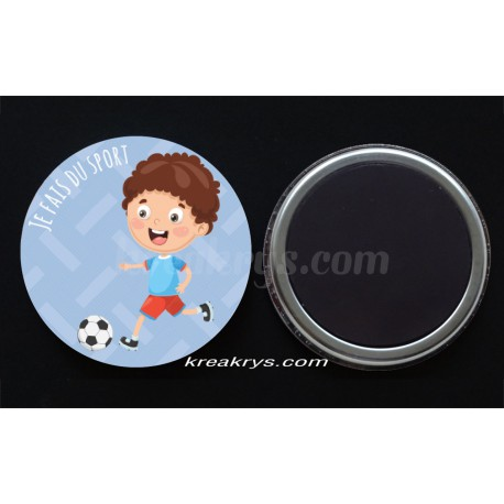 Badge 25mm Magnet