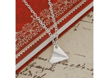 Collier Licorne origami