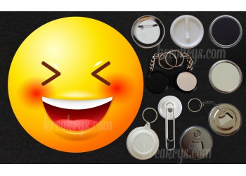 Badge Collection Emoticône : trop dôle