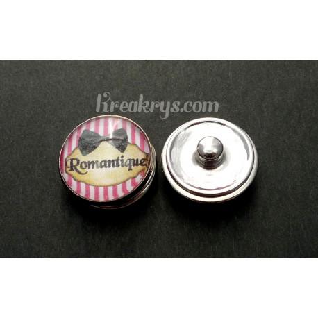 Bouton pression qualité & défaut : Romantique