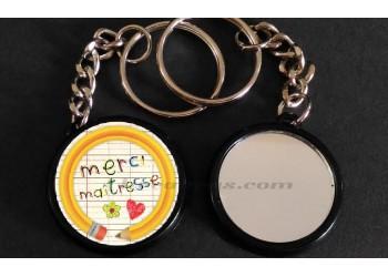 Badge Collection fin d'année scolaire - Merci Maîtresse
