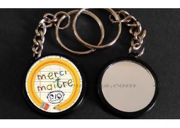 Badge Collection fin d'année scolaire - Merci Maître