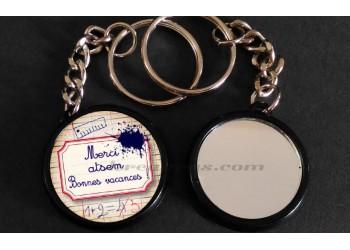 Badge Collection fin d'année scolaire - Merci Atsem et Bonnes Vacances
