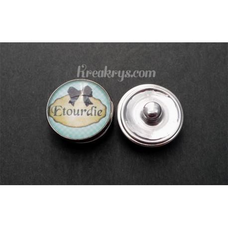 Bouton pression qualité & défaut : Etourdie