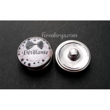 Bouton pression qualité & défaut : Pétillante