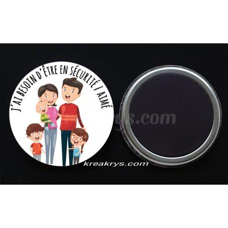 Badge 25mm Magnet