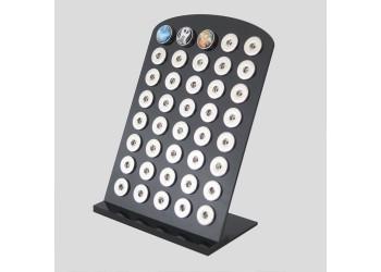 Présentoir pour 40 boutons pressions 18/20mm