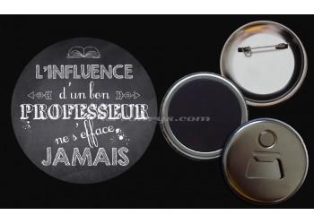 Badge Collection Citations : L'influence d'un bon professeur ne s'efface jamais