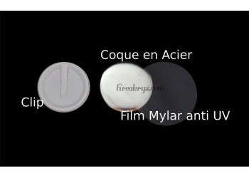 Badge 58 mm Clip à Personnaliser avec une PHOTO