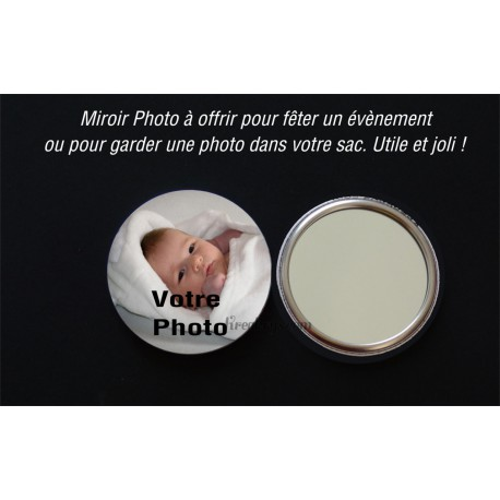 Badge 58mm Miroir PHOTO