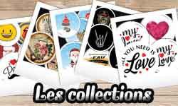 Les collections et évènements
