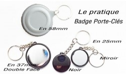 Badges porte-clés