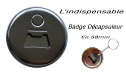 Badges décapsuleurs